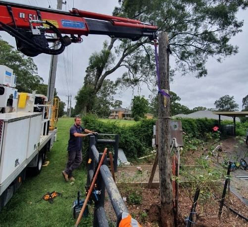 Private Power Pole Replacement & Installation